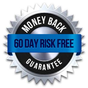 60 Day Money back risk-free guarantee